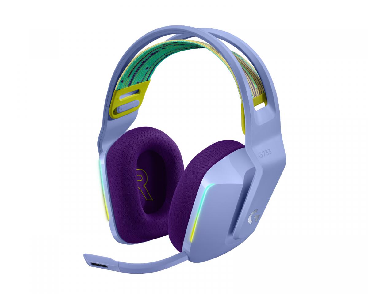 G733 Lightspeed Wireless Headset - Lilac