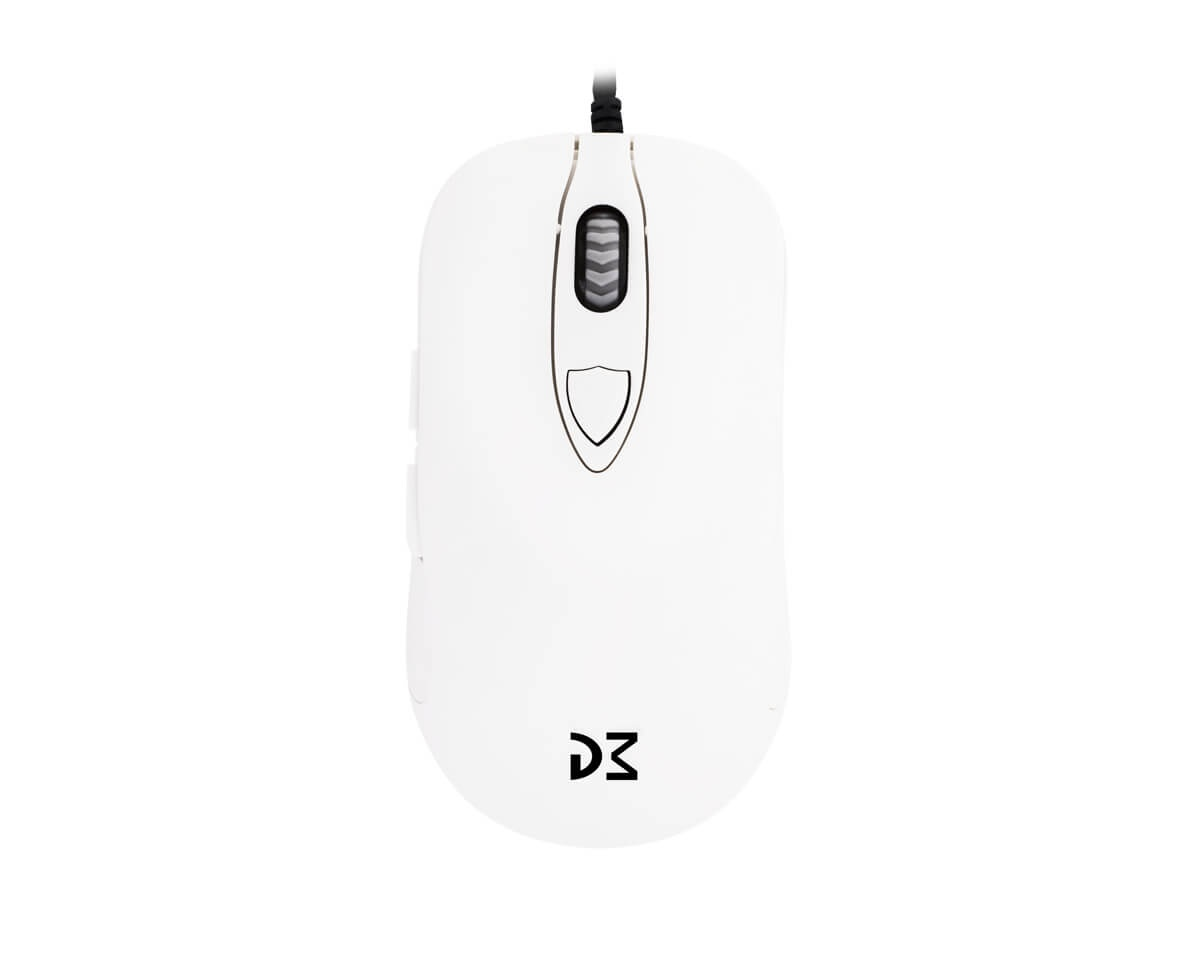Buy Dream Machines DM1 FPS Blizzard White Gaming Mouse at