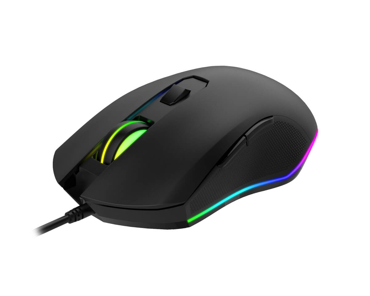 MS804 RGB Gaming Mouse in the group PC Peripherals / Mice & Accessories / Gaming mice / Wired at MaxGaming (13339)