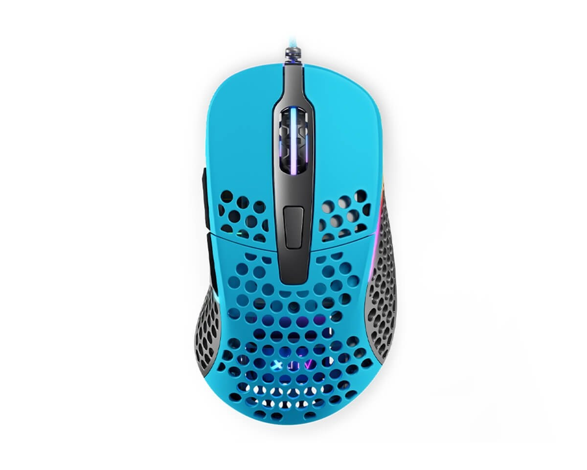 M4 RGB Miami Blue in the group PC Peripherals / Mice & Accessories / Gaming mice / Wired at MaxGaming (14919)