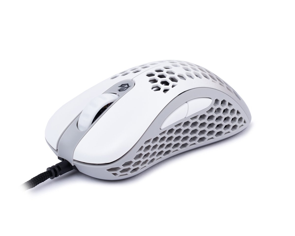 Skoll RGB Gaming Mouse White in the group PC Peripherals / Mice & Accessories / Gaming mice / Wired at MaxGaming (15069)
