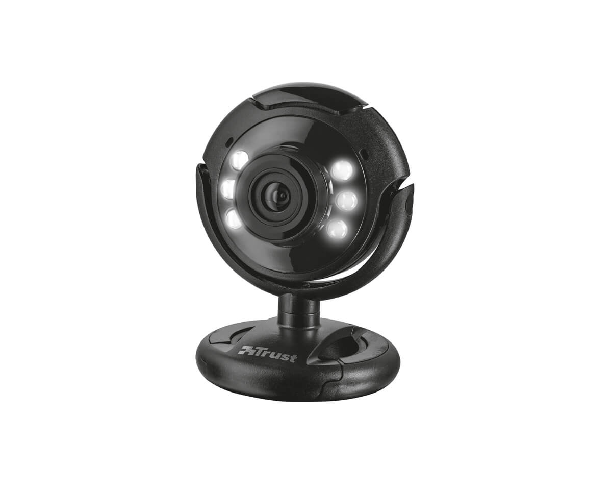 SpotLight Pro Webcam with LED lights in the group PC Peripherals / Computer components / Webcam at MaxGaming (16269)