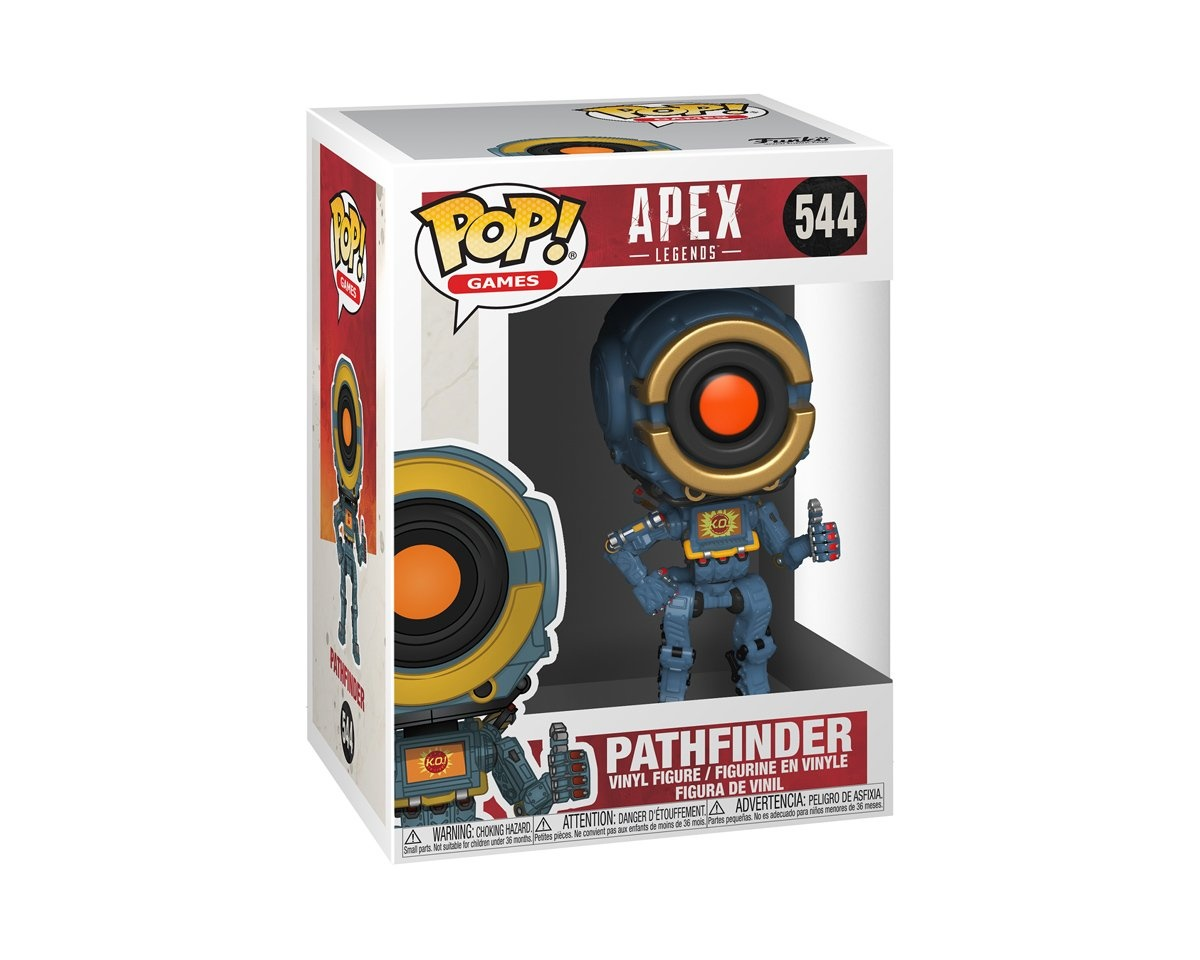 POP Games: Apex Legends - Pathfinder in the group Home & Leisure / Collectible figures / Funko Pop Figures at MaxGaming (16314)