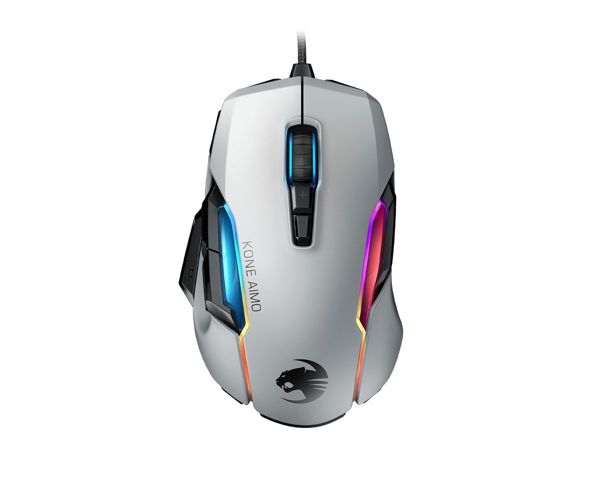 Buy Roccat Kone Aimo Gaming Mouse White Remastered at us ...