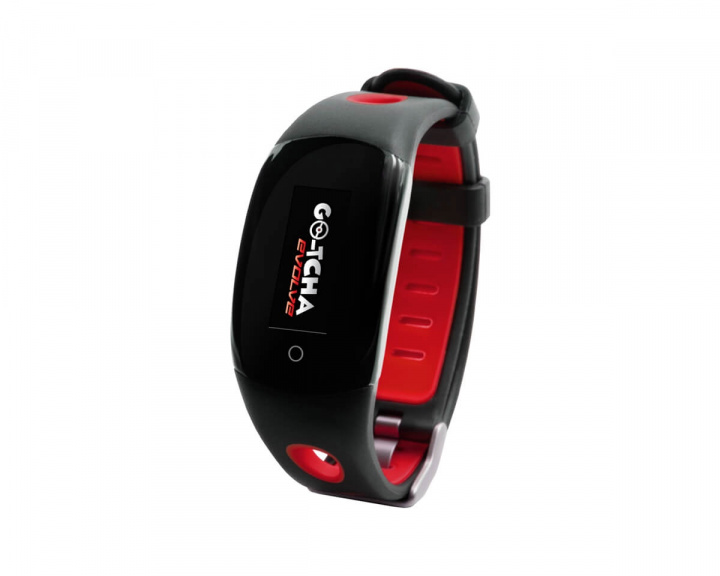 Go-tcha Evolve Wristband for Pokemon Go - Red in the group Mobile Accessories / Smartband at MaxGaming (15204)