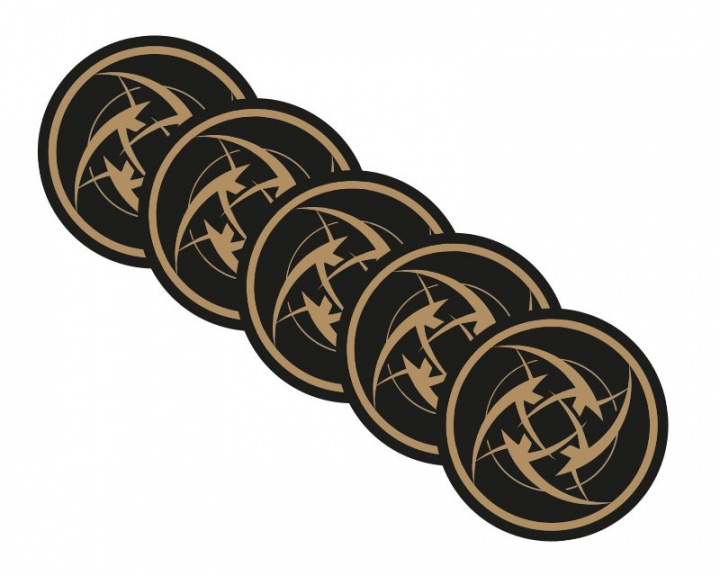 Stickers - 5 pack in the group Clothing / Team store / Ninjas In Pyjamas at MaxGaming (7018)